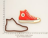 All Stars Sneaker Cookie Cutter