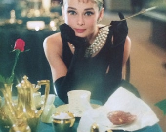 Audrey Hepburn Breakfast At Tiffany's  16 X 20 POSTER