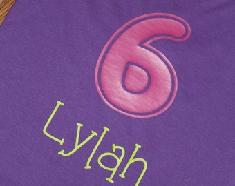 Personalized Birthday shirt