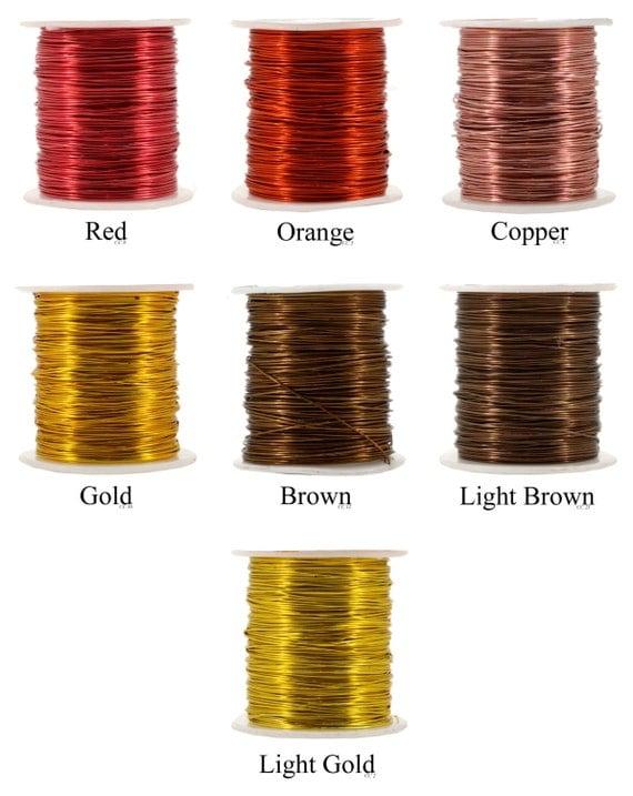 Mandala crafts extra long aluminum 22 gauge craft wire for 22 gauge craft wire