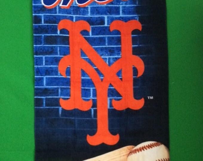 Baseball MLB New York METS Beach Towel Personalized