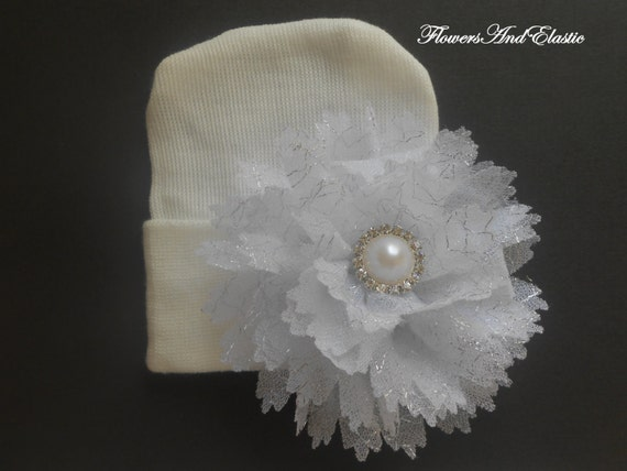 Newborn hospital hat, Baby hat,  newborn girl hat, infant girl hat, hospital newborn hat, newborn hat, infant hat, baby hat, baby bow