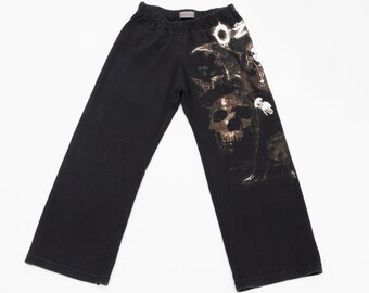 Boys Ozzy Lounge Pants from Recycled T-shirt, size 4