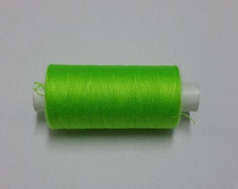 Superstitch Fluorescent Green Thread 120s Polyester 500 yards