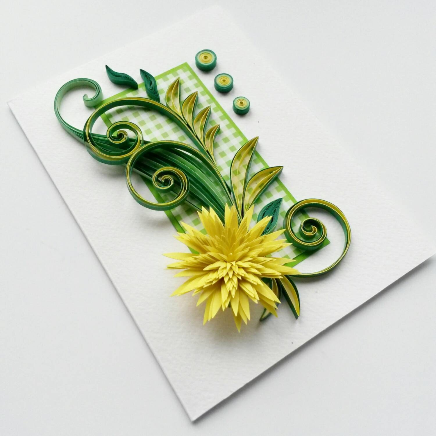 Quilled Birthday Card Mother s Day Card Quilling Card