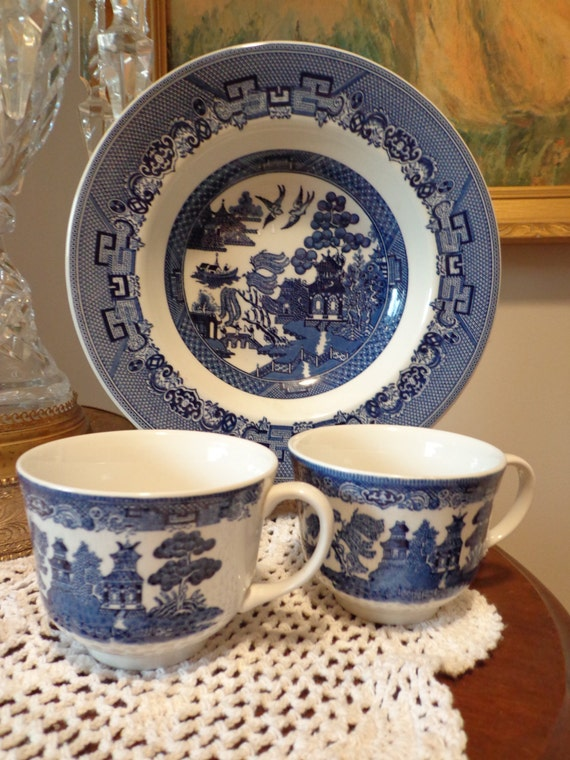 Johnson Brothers China Blue And White Johnson Brothers England Blue