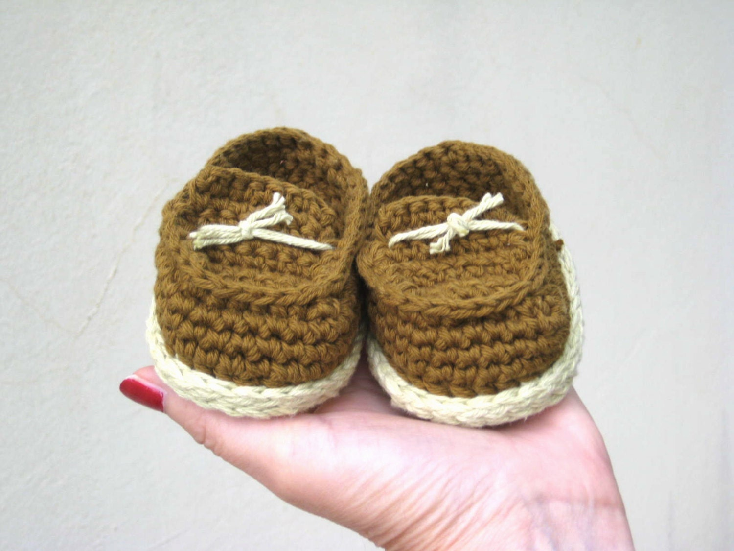 Crochet pattern baby booties Baby boy shoes tutorial