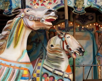 Old French carousel