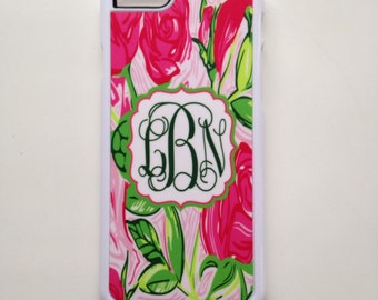 Lilly Delta Zeta Phone Cases. DZ Initiation or Big Little Gifts.DZ sorority phone case. I phone 4,5,5s, 5c 6 or 6 Plus!