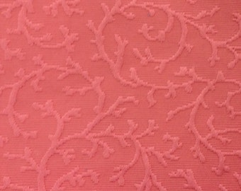 Coral Colored Coral Upholstery Fabric - Upholstery Fabric By The Yard