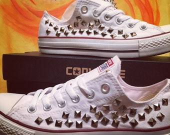 Converse All Star Custom Studded - Chuck Taylor - ALL SIZES & COLORS!!!