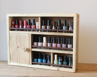Nail Polishes & accessories Rack, to hang, 30 bottle model