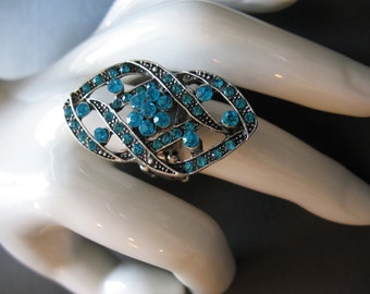RINGS, STRETCHY RINGS,  Beautiful designed rings, turquoise, item R114