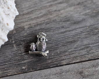 Santa Owe Sterling Silver Charm Pendant Made in USA
