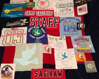 Collage Tee Shirt Quilt