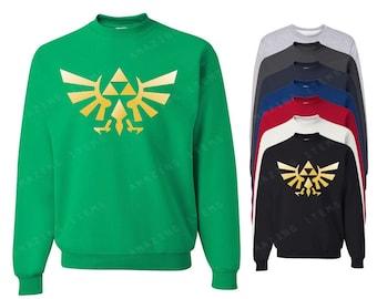 Zelda Crewneck Legend Of Zelda Sweatshirts