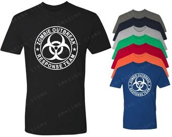Zombie Outbreak Men's T-shirt  Zombie Shirts