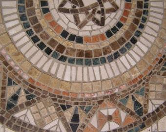 Marble Mosaic Mandala
