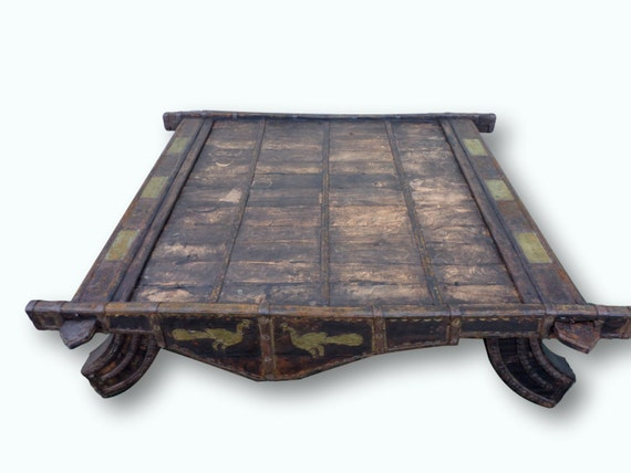 Rh Indian Cart Coffee Table Ideas
