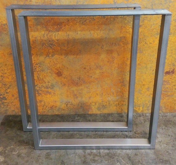 Squared Steel Table legs 2x1 tube
