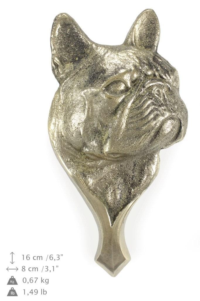 French bulldog dog door 39 s knocker limited edition - Bulldog door knocker ...