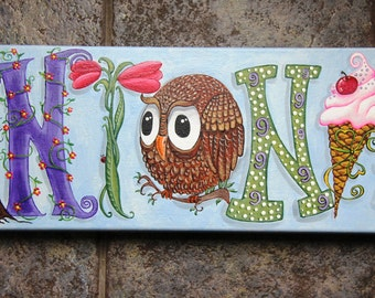 Personalized Name Painting