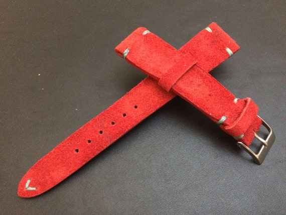 Leather Watch Strap | Leather Watch Band | Rolex Watch Strap | Rolex Watch Band | Handmade Suede Leather Watch Strap for Rolex, IWC