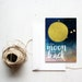 Moon and Back  5x7 printable