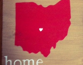 Ohio home plus heart (city optional)