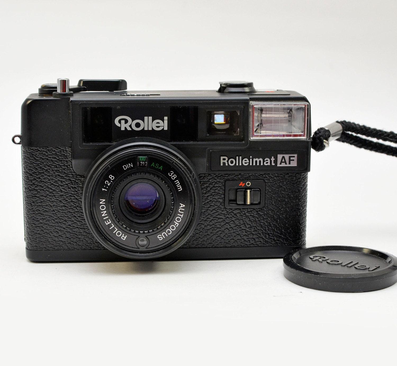 vintage rollei rolleimat af auto focus 35mm film camera by. Black Bedroom Furniture Sets. Home Design Ideas