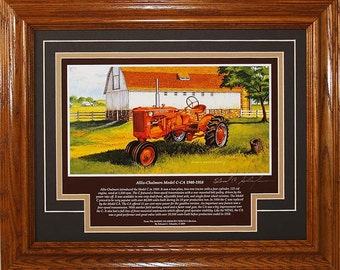 Allis Chalmers Model C CA 1940 to 1958 with History