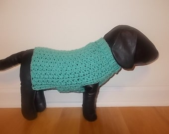 New Sea Foam Green Dog Turtleneck Sweater/Clothing Yorkie Chihuahua Terrier Small S