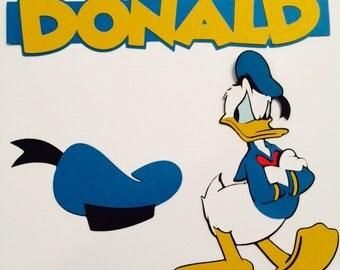 Donald Duck Die Cuts