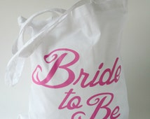 Bride to Be Tote Bag   Hen Party Keepsake   Hen Party Bag