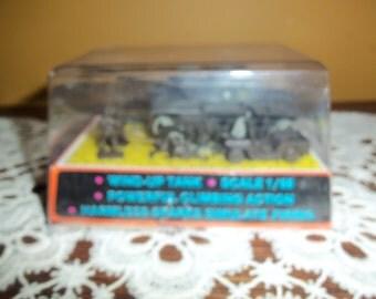 Vintage Schuco Wind Up Toy Tank (Combat Mini Series) 1/68 scale