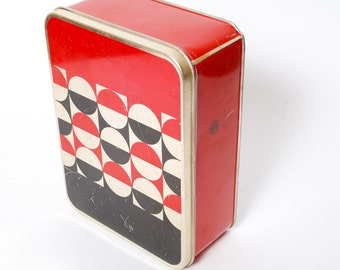 Vintage Tin Metal Handicraft Box, Case, Norma Tallinn (CI455)