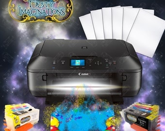 Canon Edible Printer Bundle - Comes with Edible Ink Cartridges & Frosting Sheets - Apprentice Package