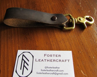 Leather Loop with Belt Clip