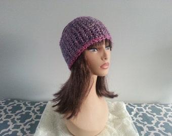 Sale!! CROCHET WINTER HEADBAND | Pink/Purple/Cream Blend Extra Wide Headband | Winter Headband