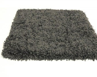 "COLOSSAL Candy Shag by KANE 1-1/2"" Thick Anise Carpet Area Rug"