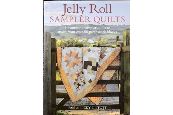 Items Similar To Jelly Roll Sampler Quilts By Pam And