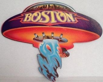 Boston Hanger/Mobile 1975 CBS Records Promo for 1st LP