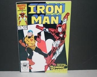 Collectible Marvel Comic, Iron Man, Marvel, Comic, 1986, Collectible, Vintage Paper, Iron Man Comic, Vintage Comic Book, Comic Book,