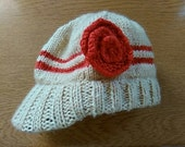 toddler sun hat with peak, customisable