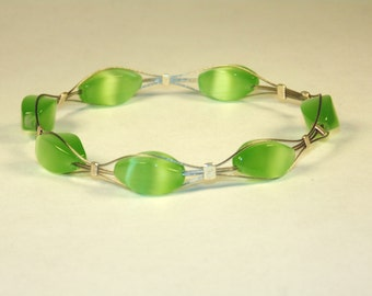 Green Resin Bracelet