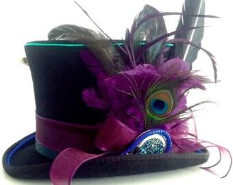 Victorian Gentelmen's EL Wire Top Hat