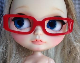 """Eye Glasses for Blythe """"CC RECTANGLE"""""""