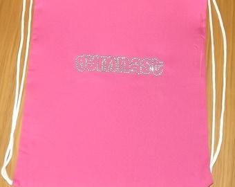Gymnast Drawstring Bag Light Pink