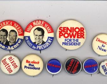 10 Nixon buttons