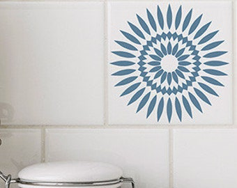 Sunflower Wall Decal Etsy